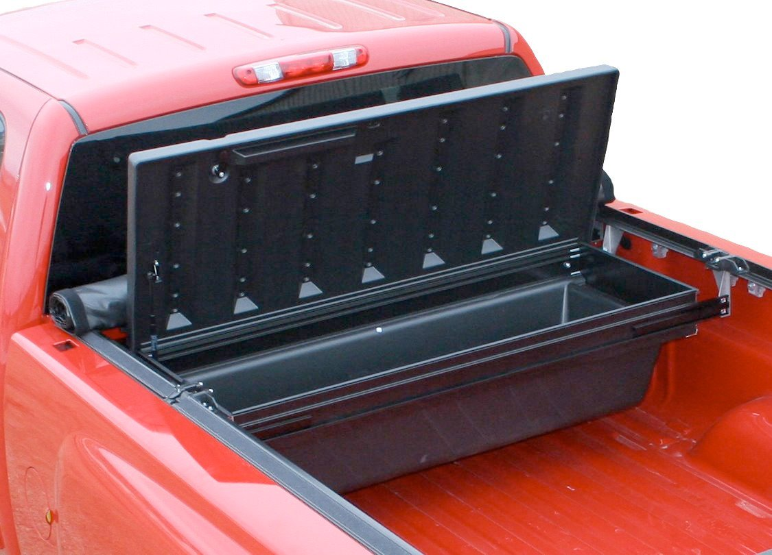Truck bed tool boxes the image kid has it - Truck bed box drawers ...